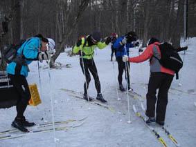 2009年02月クロカン・スキー